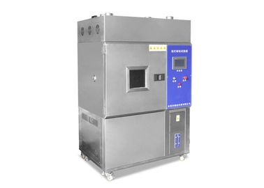 चीन 2.0KW Stainless Steel Xenon Test Chamber , Simulated Sunlight Xenon Arc Testing Machine वितरक