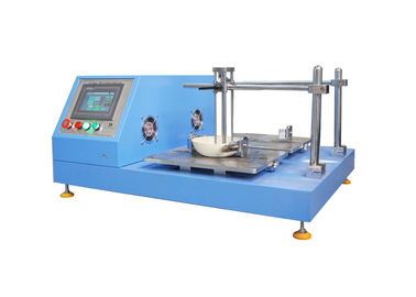 चीन BS 7069 Abrasion Resistance Test Machine With 6.5+/-0.2m/min वितरक