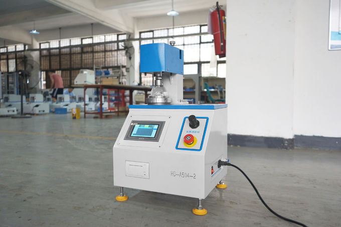 Electric Automatic Paper Testing Equipments , Film Paper Bursting Testing Machine
